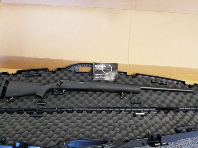 Remington M-24 SWS 7.62x51 With Case (NEW IN BOX)