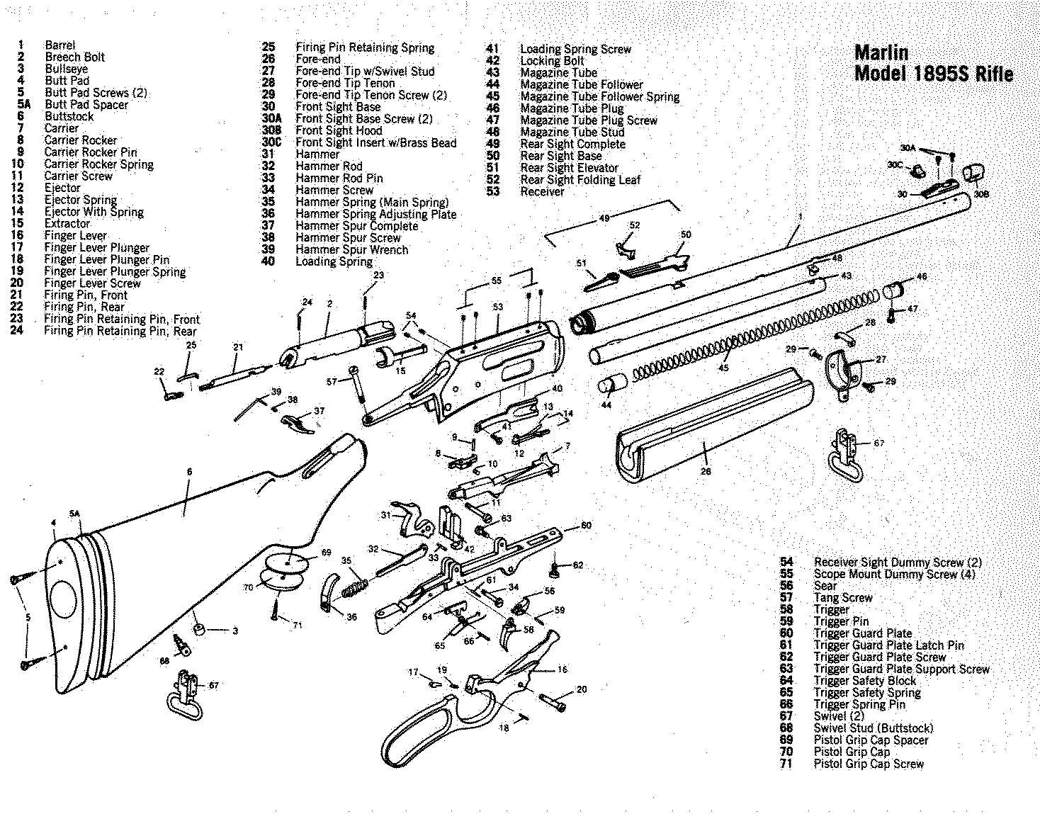 Beretta 38a Blueprints